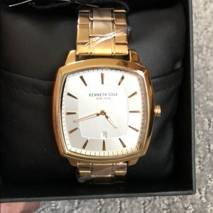 New Kenneth Cole gold watch